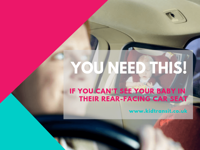 Can't see your baby in a rear facing car seat_ you need this