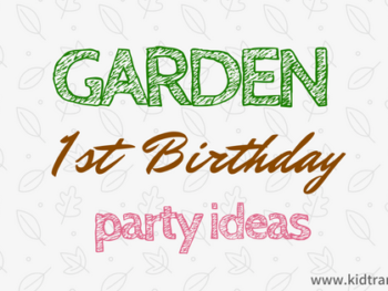 Garden First Birthday Party Ideas