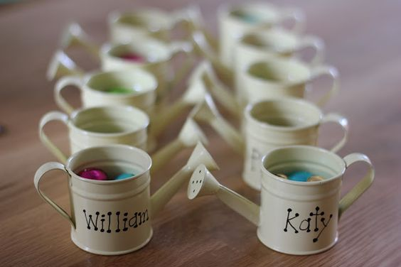 Garden Themed First Birthday Party Favour Ideas 11