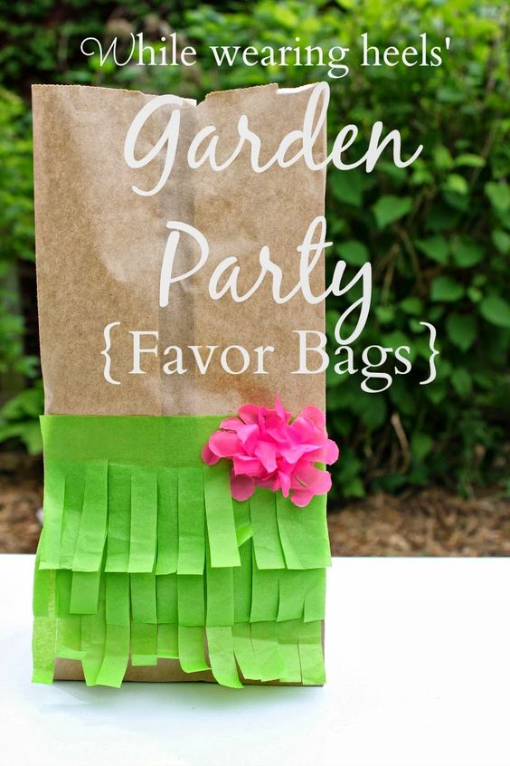 Garden Themed First Birthday Party Favour Ideas 12