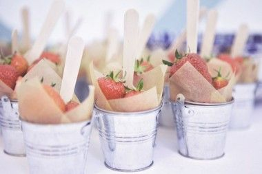 Garden Themed First Birthday Party Food