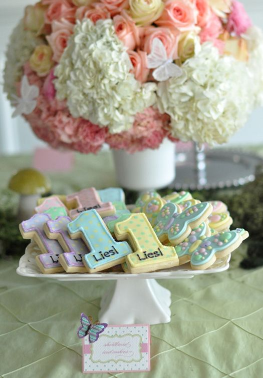 Garden Themed First Birthday Party Food 2
