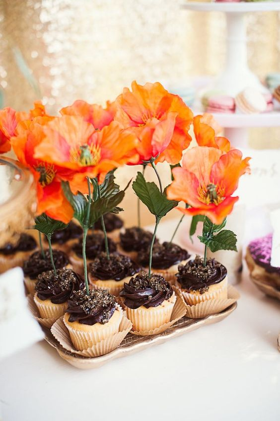 Garden Themed First Birthday Party Food And Drink Ideas