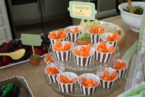 Garden Themed First Birthday Party Food 4