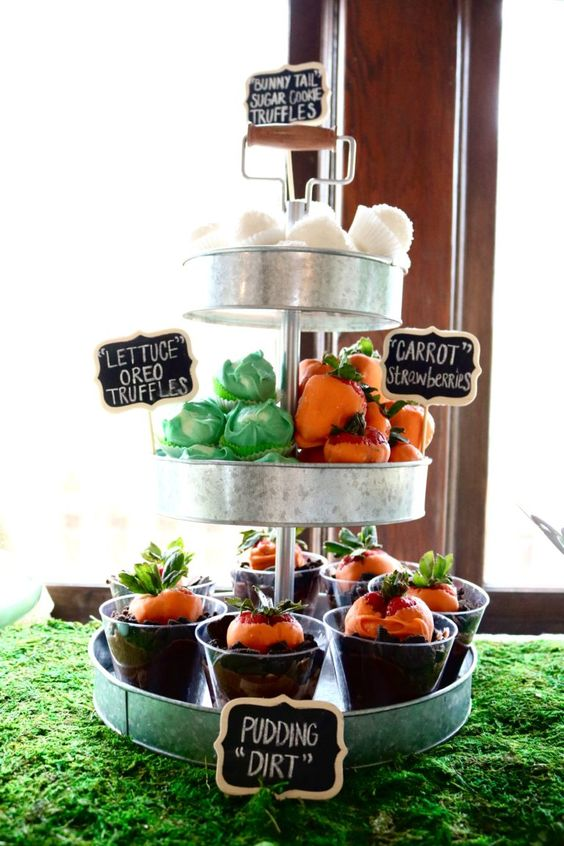 Garden Themed First Birthday Party Food 5