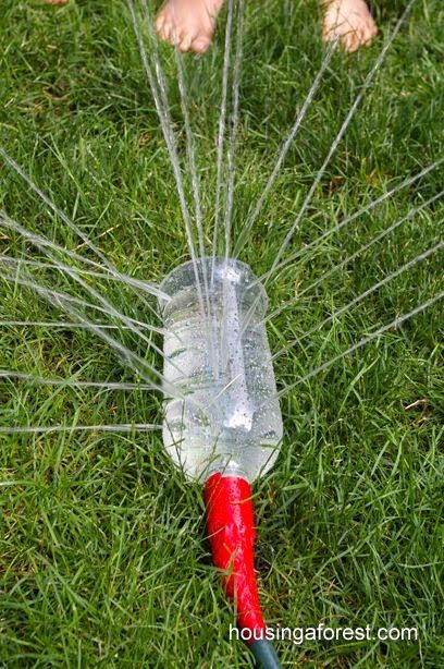 Garden Themed First Birthday Party Game sprinklers