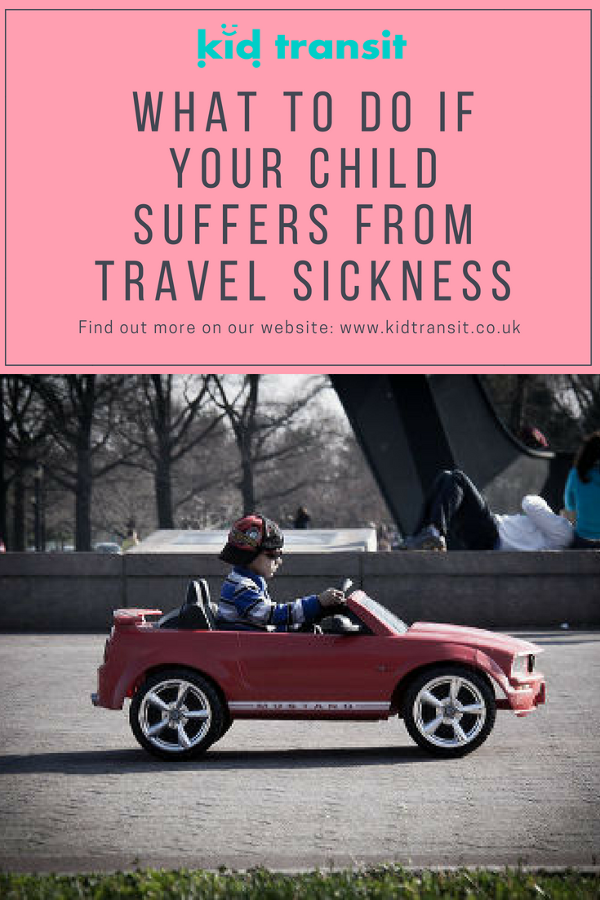 child travel sickness tips