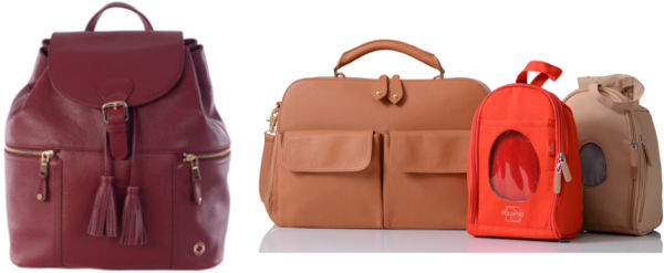 designer leather changing bags nappy pacapod kerikit