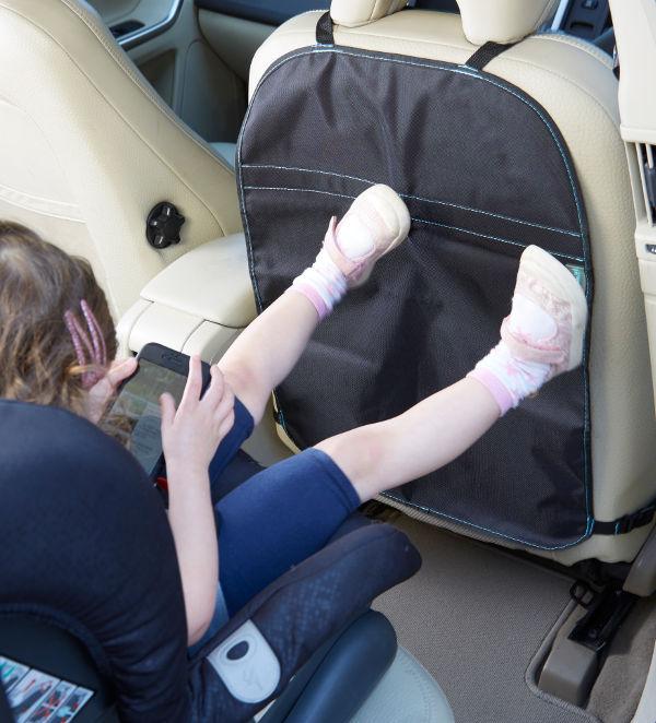 front car seat kick mat