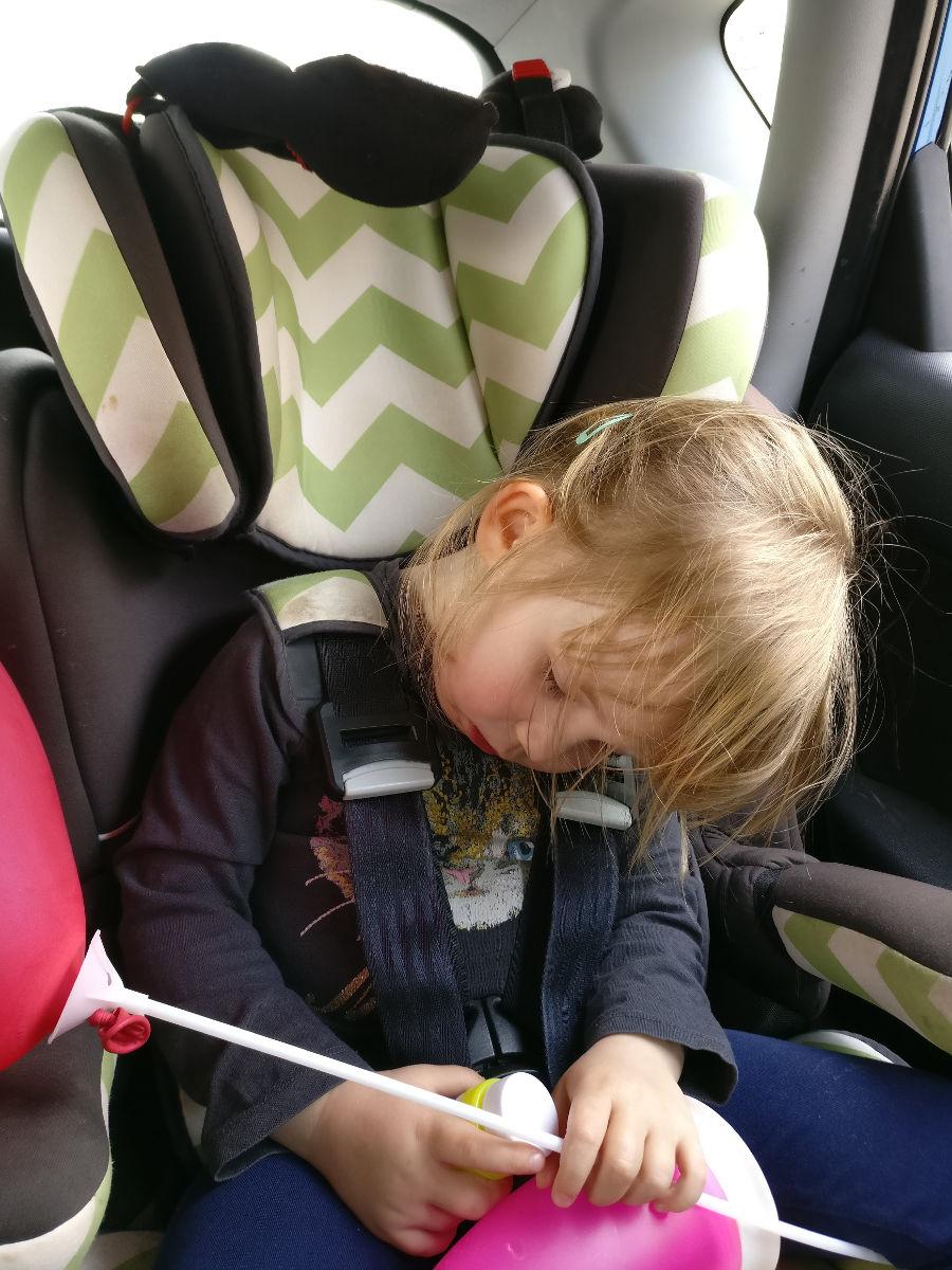 Head Falling Forward Car Seat Support