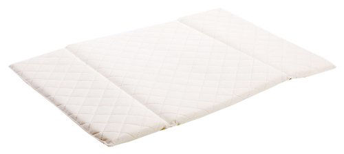 kidtex folding travel cot mattress