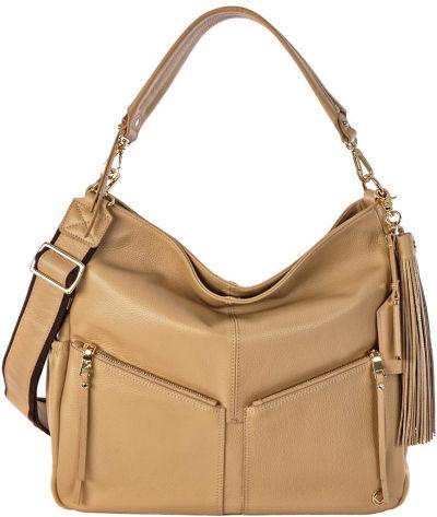 lennox sand leather designer nappy bag kerikit