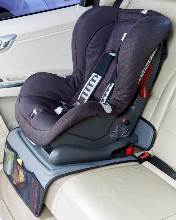 robust car seat protector under seat