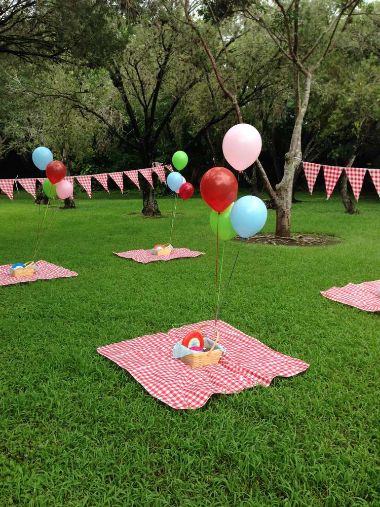 Garden Themed First Birthday Party Decor Ideas - Kid Transit