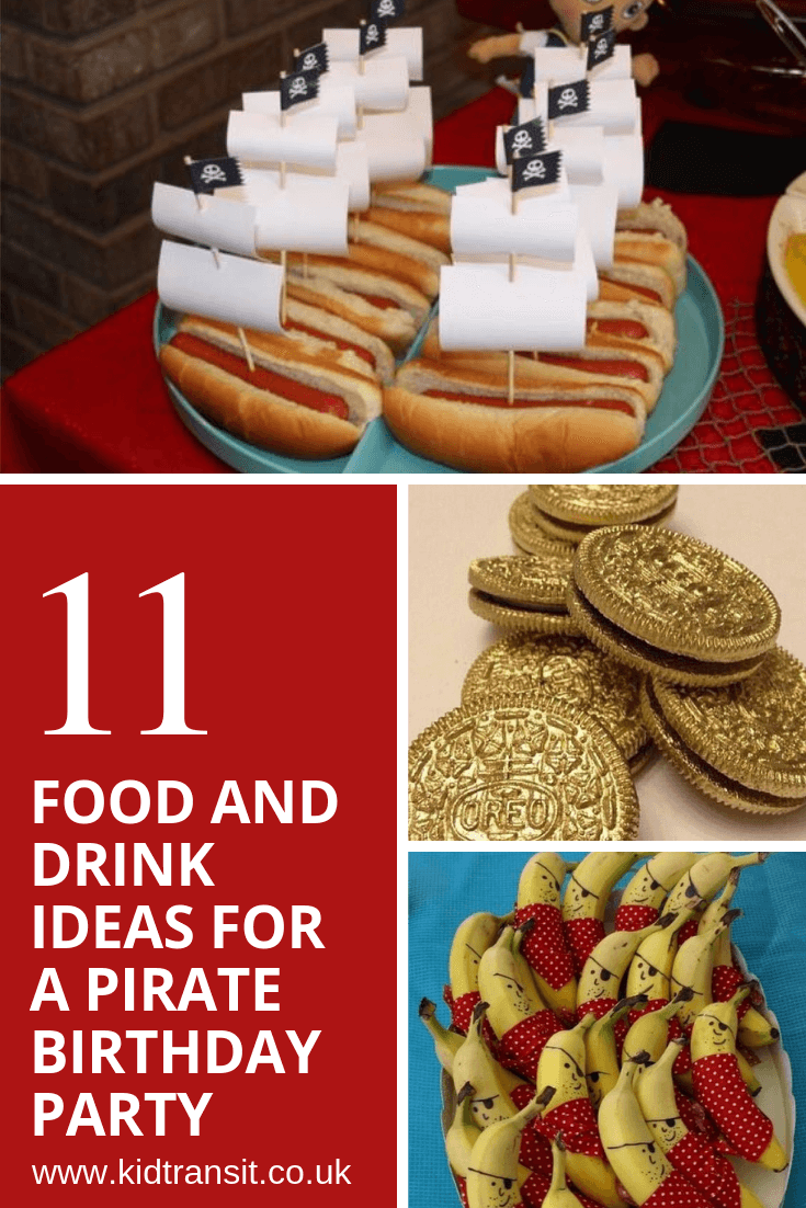 11 party food and drink ideas for a pirate theme first birthday party
