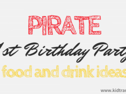 Pirate Themed First Birthday Party Food and Drink Ideas