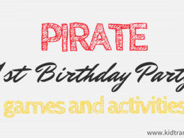 Pirate Themed First Birthday Party Games