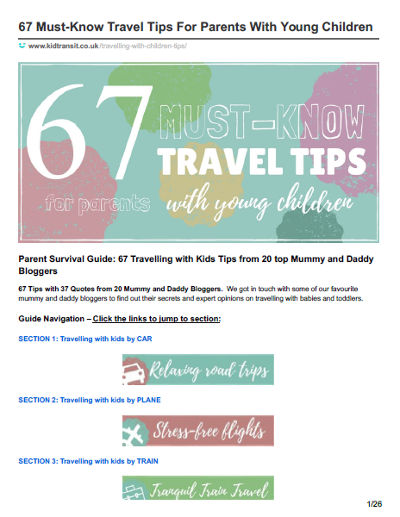 67 tips for travelling 1st page
