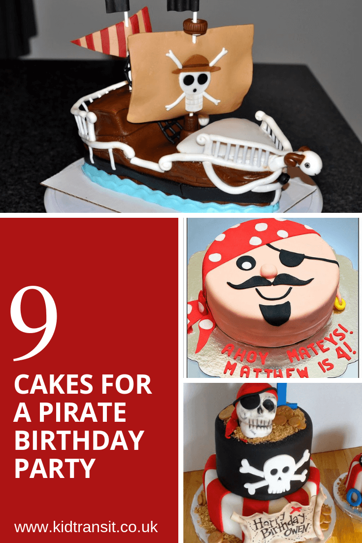 9 birthday cake ideas for a pirate theme first birthday party