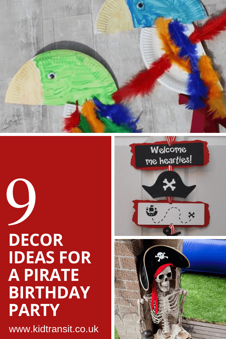 9 birthday party decor ideas for a pirate theme first birthday party