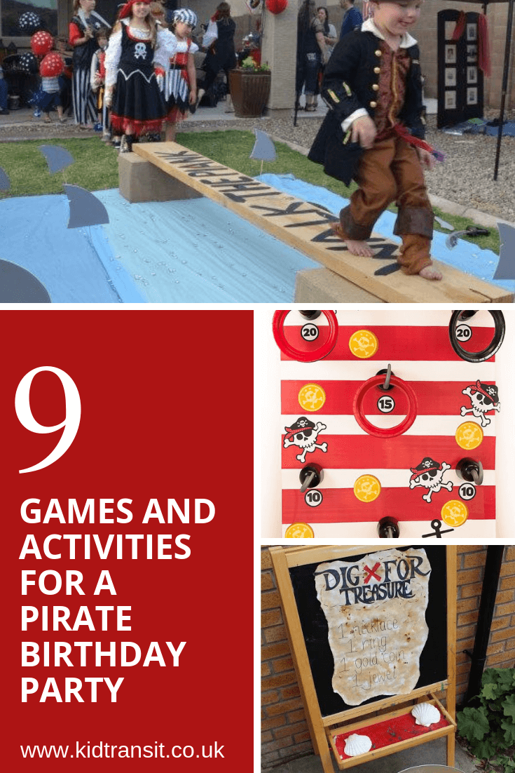 9 party games and activities for a pirate theme first birthday party
