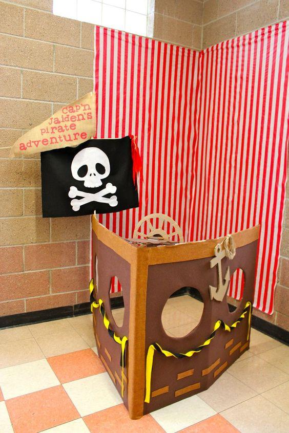 Pirate Theme Birthday Party Decor
