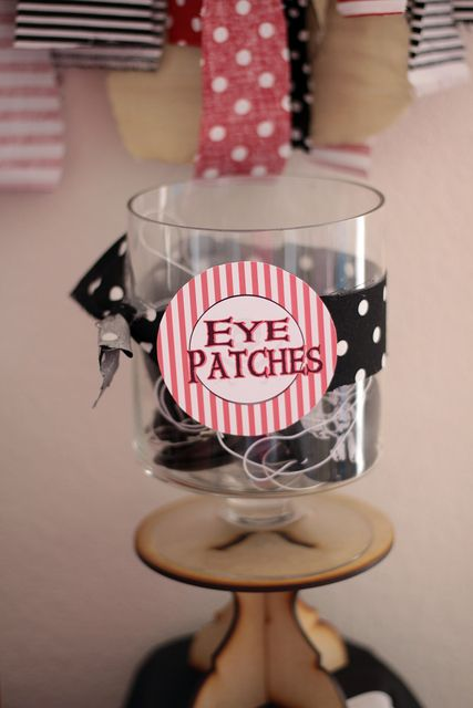 Pirate Themed First Birthday Party Favours