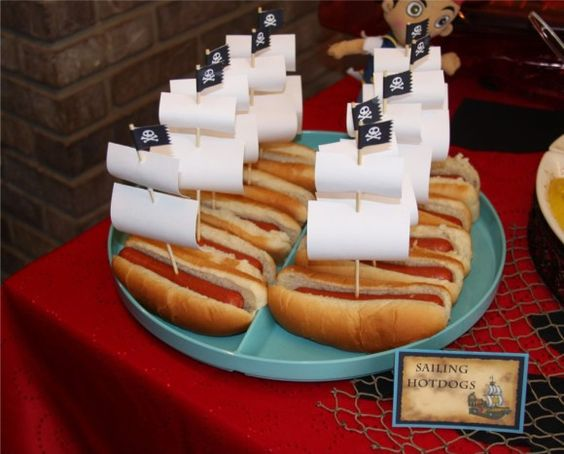 Pirate Themed First Birthday Party Food 11