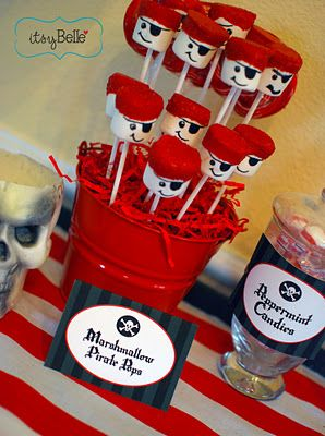 Pirate Themed First Birthday Party Food