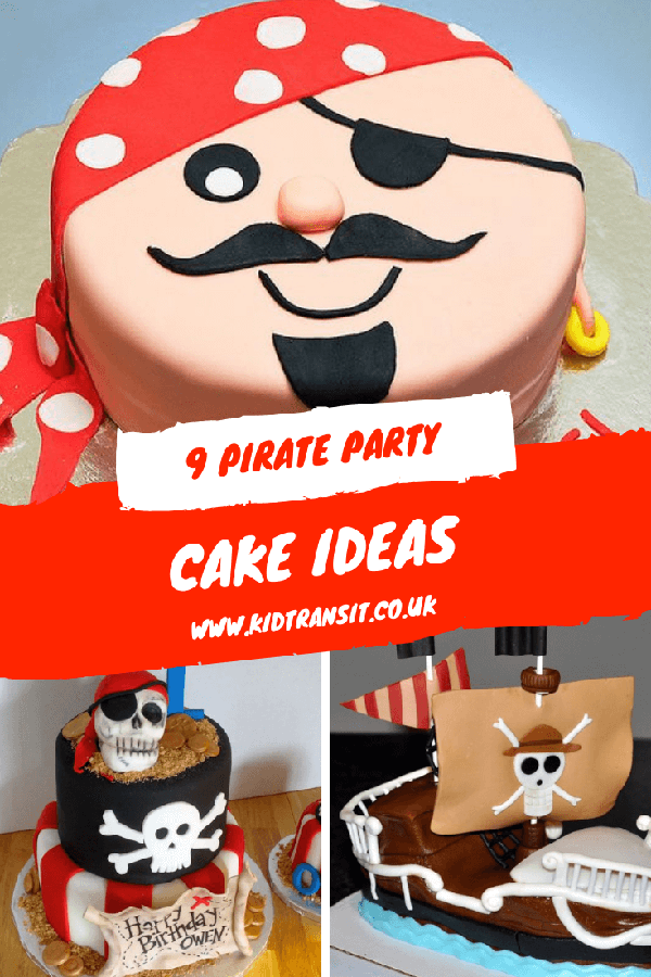 Awesome pirate cake ideas for a swashbuckling pirate children's party