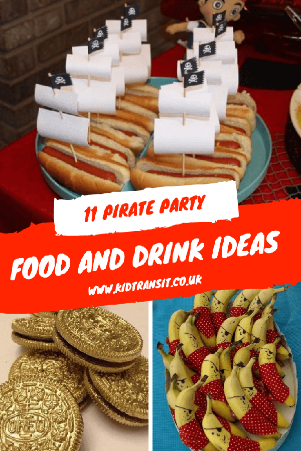 pirate party food birthday drink themed pirates theme children fun kidtransit collection check parties childrens drinks visit cake kid dessert