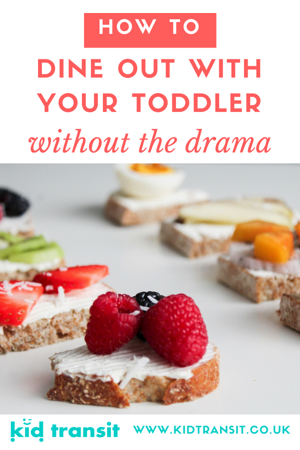 how to dine out with your toddler