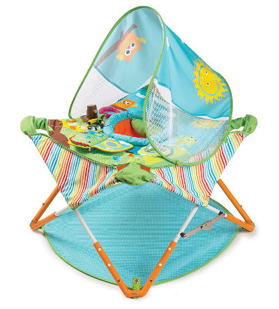 summer infant pop n go travel jumper baby bouncer