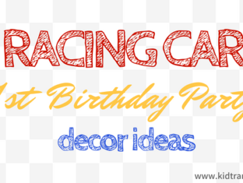 Racing Car First Birthday Ideas