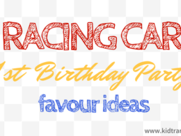 Car Themed First Birthday Party Favour Ideas
