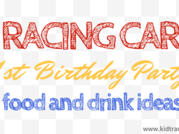 Car Themed First Birthday Food and Drink Ideas
