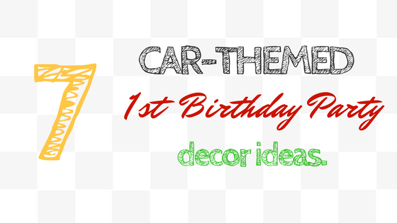 Car Themed First Birthday Cake Ideas Title