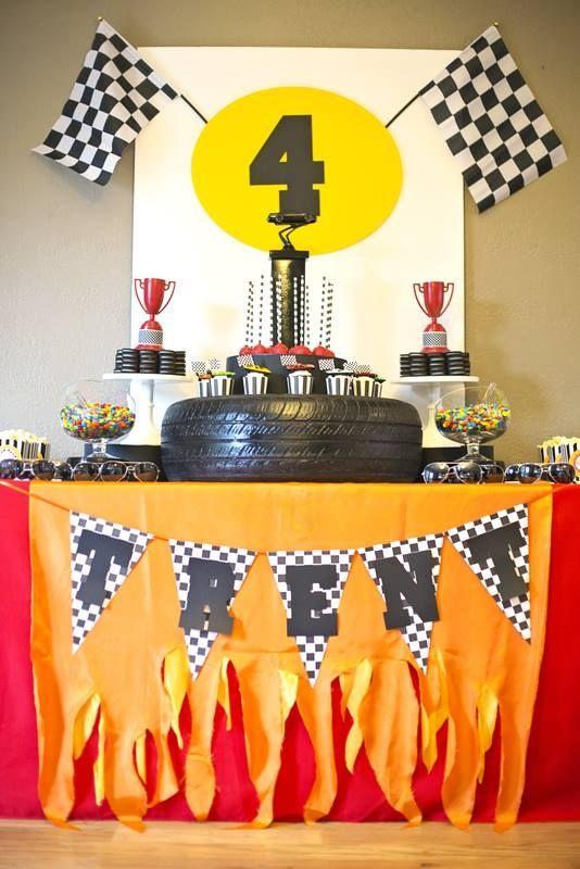 Car Themed First Birthday Decor Ideas