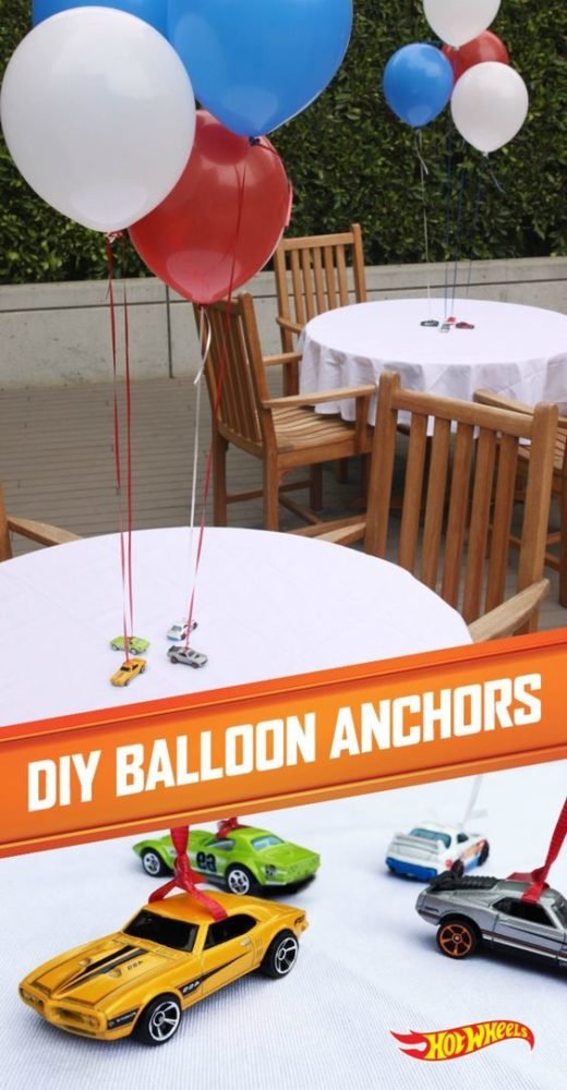 Car Themed First Birthday Decor Ideas