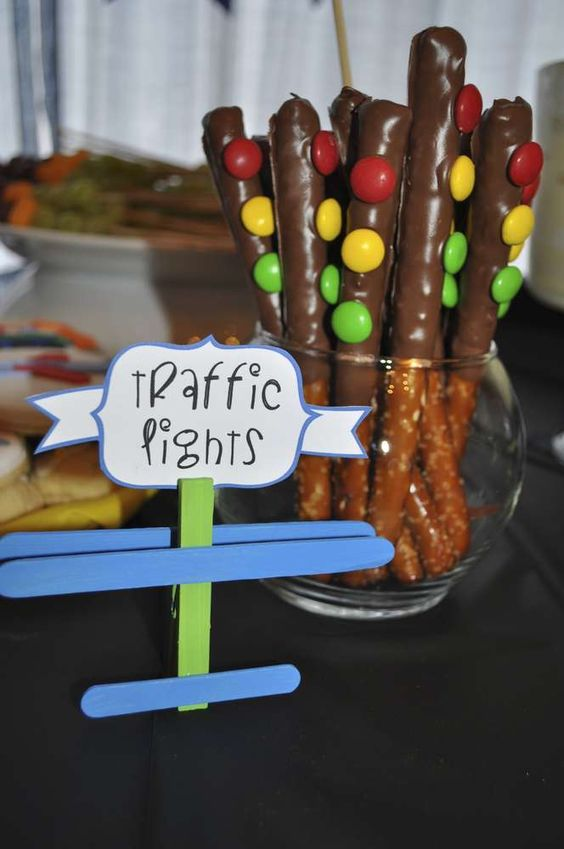 Car Themed First Birthday Food Ideas