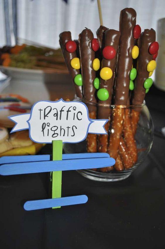 Car Themed First Birthday Food Ideas