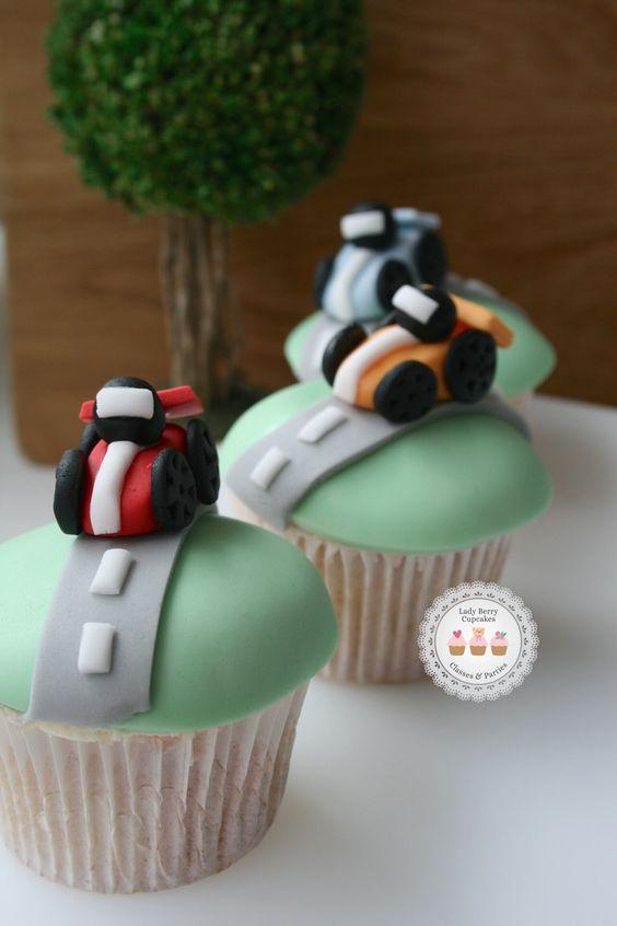 Car Themed First Birthday Cake Ideas