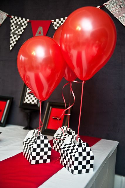 First Birthday Car Theme Favours