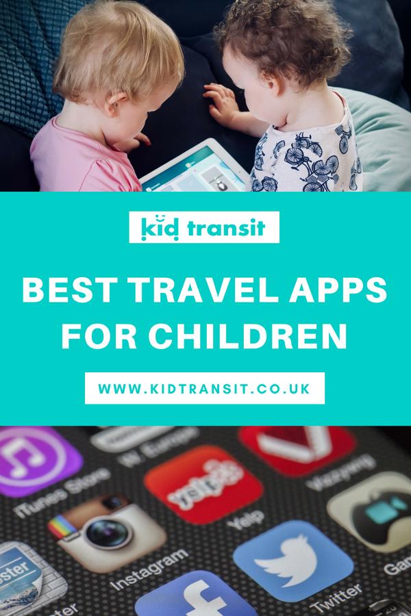 best travel apps for children