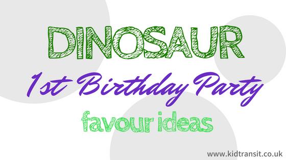 Dinosaur First Birthday Ideas