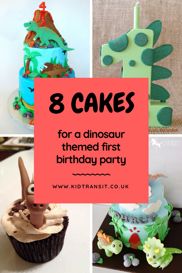 8 dinosaur theme birthday party cakes to make a first birthday party the best ever!