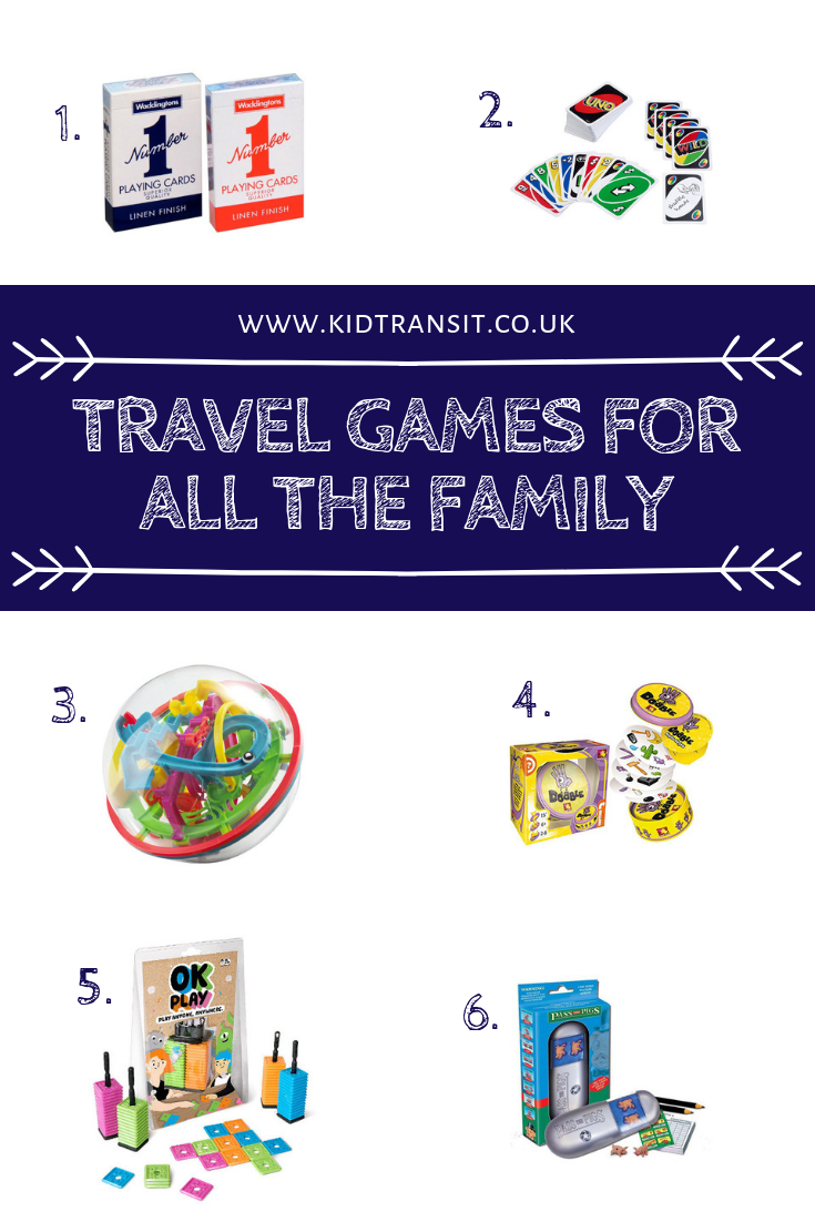 Check out these fun family travel games for road trips and vacations