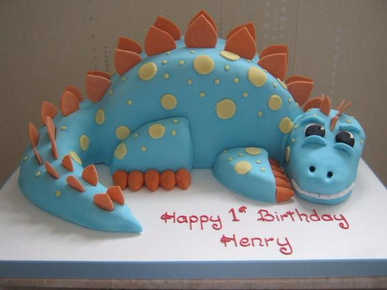 Dinosaur Themed First Birthday Cake Ideas Kid Transit