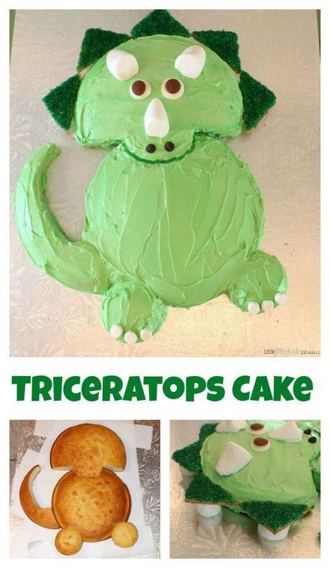 Dinosaur Theme First Birthday Cake Ideas