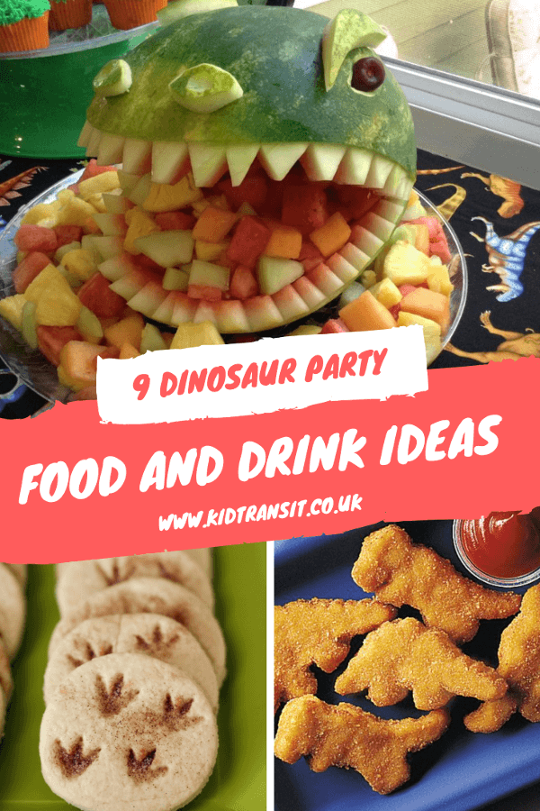 Put some bite into your birthday party with these dinosaur food and drink ideas for a first birthday